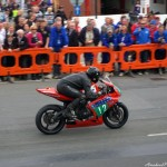"Rob ""Bullet"" Barber Heads Out on 37.5 mile IOM TT loop"