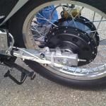 Enertrac Electric Motorcycle Hub Motor.