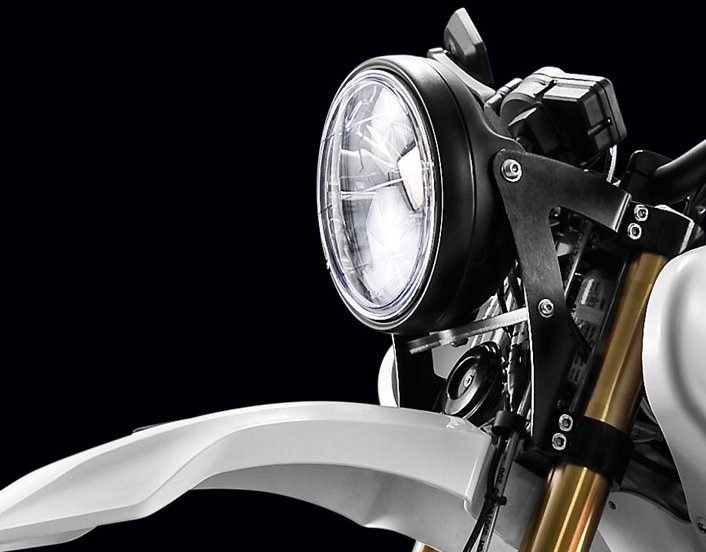 Rally Headlight On Zero Ds Plugbike Com