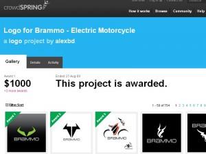 Brammo Logo Finalists