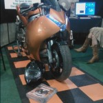 Ion Electric Motorcycle At SEE Expo