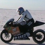 Mission Motors Bonneville Speed Trials