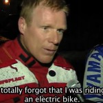 Joel Smets At The Eco Enduro