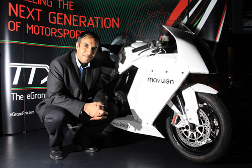 Azhar Hussain and his TTX02 Mavizen