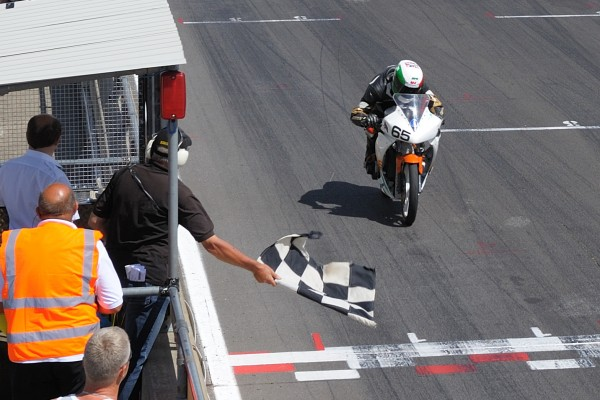 Jim Lovell And Tork India Take the checkered flag at Snetterton