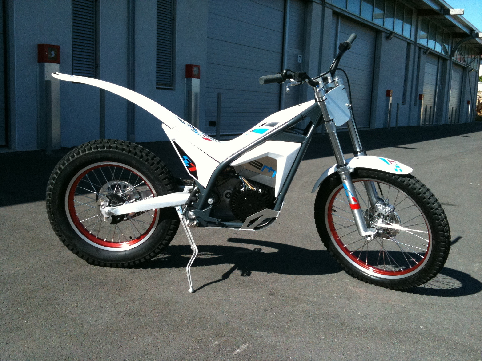 Electric Motion Em 5 7 Electric Trials Bike Christophe Bruand